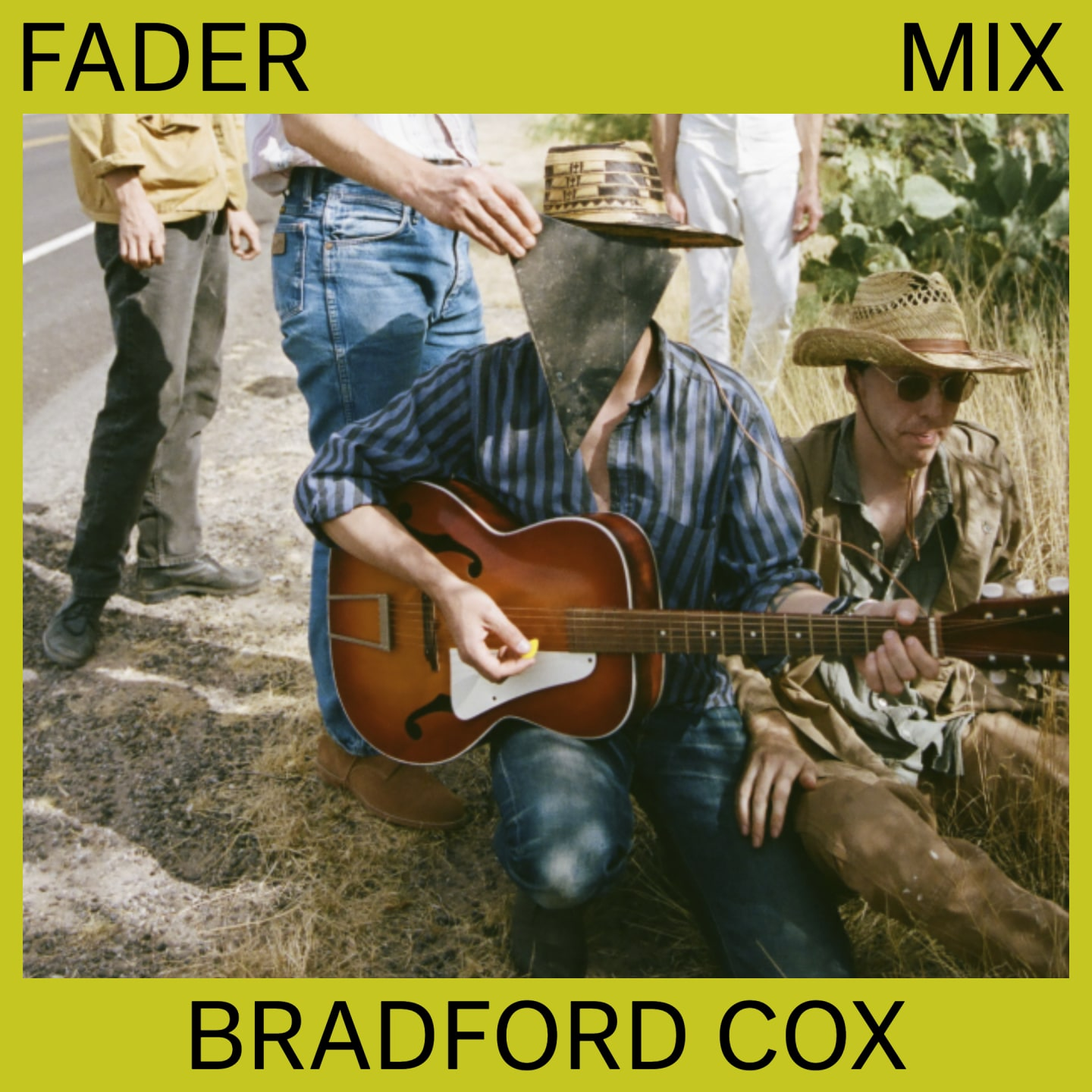 Listen to a new FADER Mix by Bradford Cox