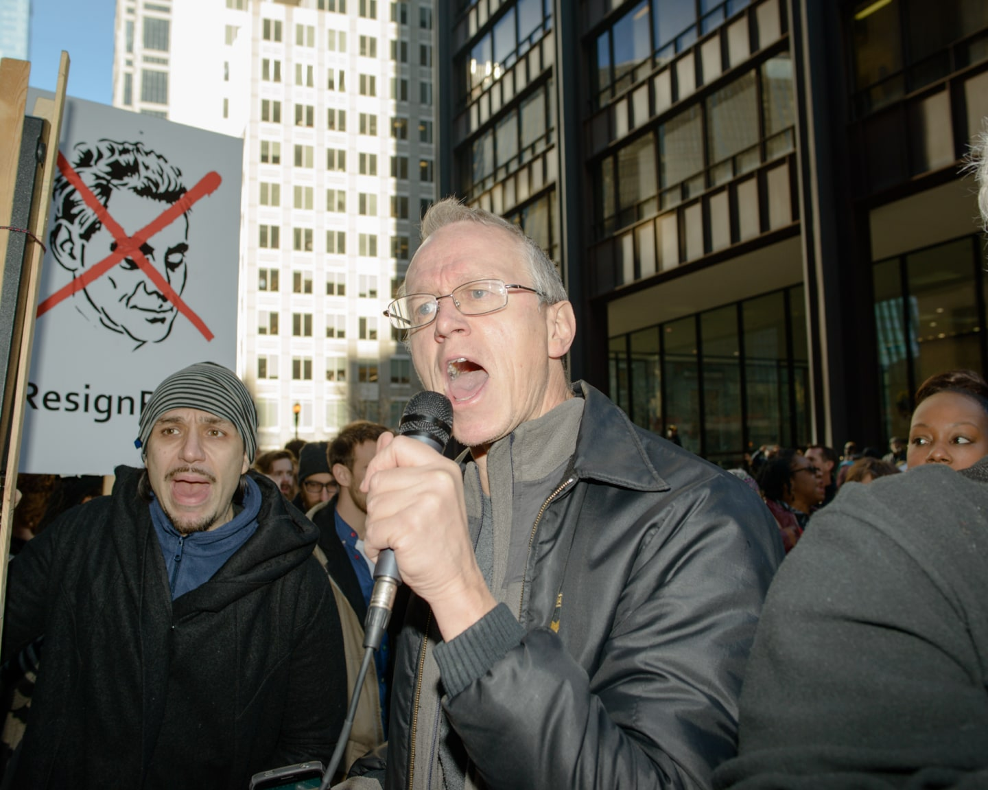 What Chicago's #ResignRahm Protests Really Looked Like