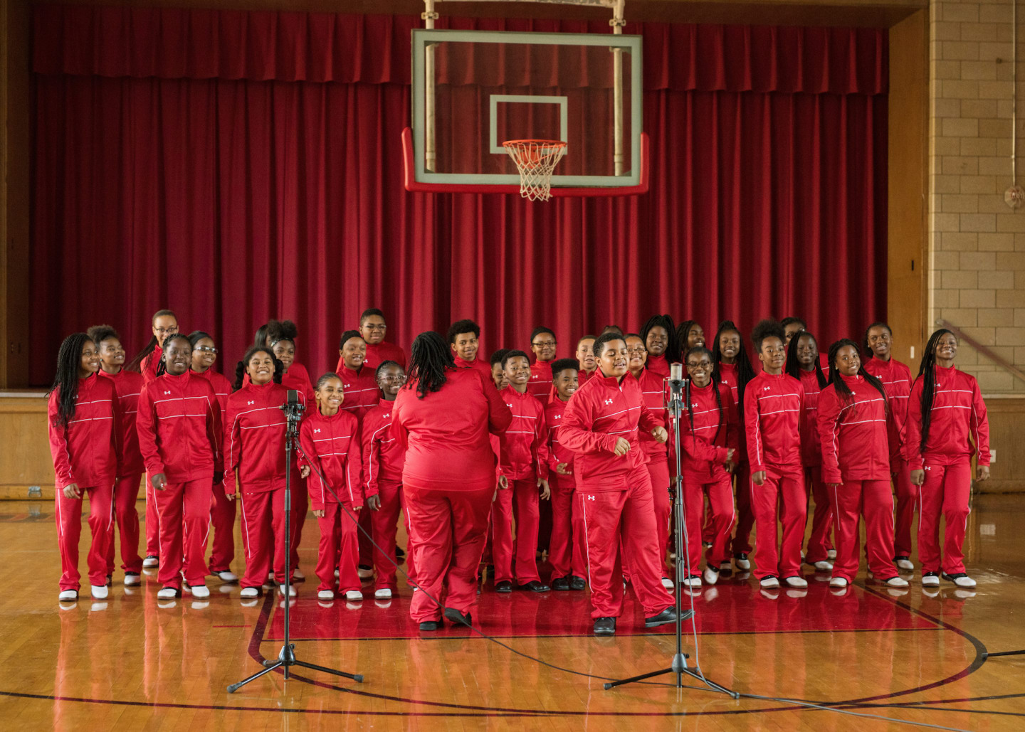 "This video of a Baltimore children's choir singing ""Santa Claus Is Coming To Town"" is gonna melt your soul"