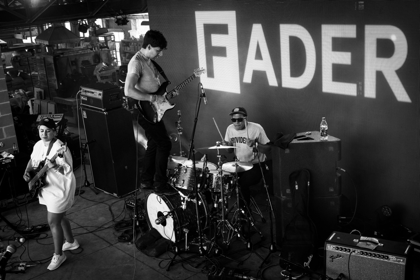27 Iconic Photos From Wednesday At The FADER FORT