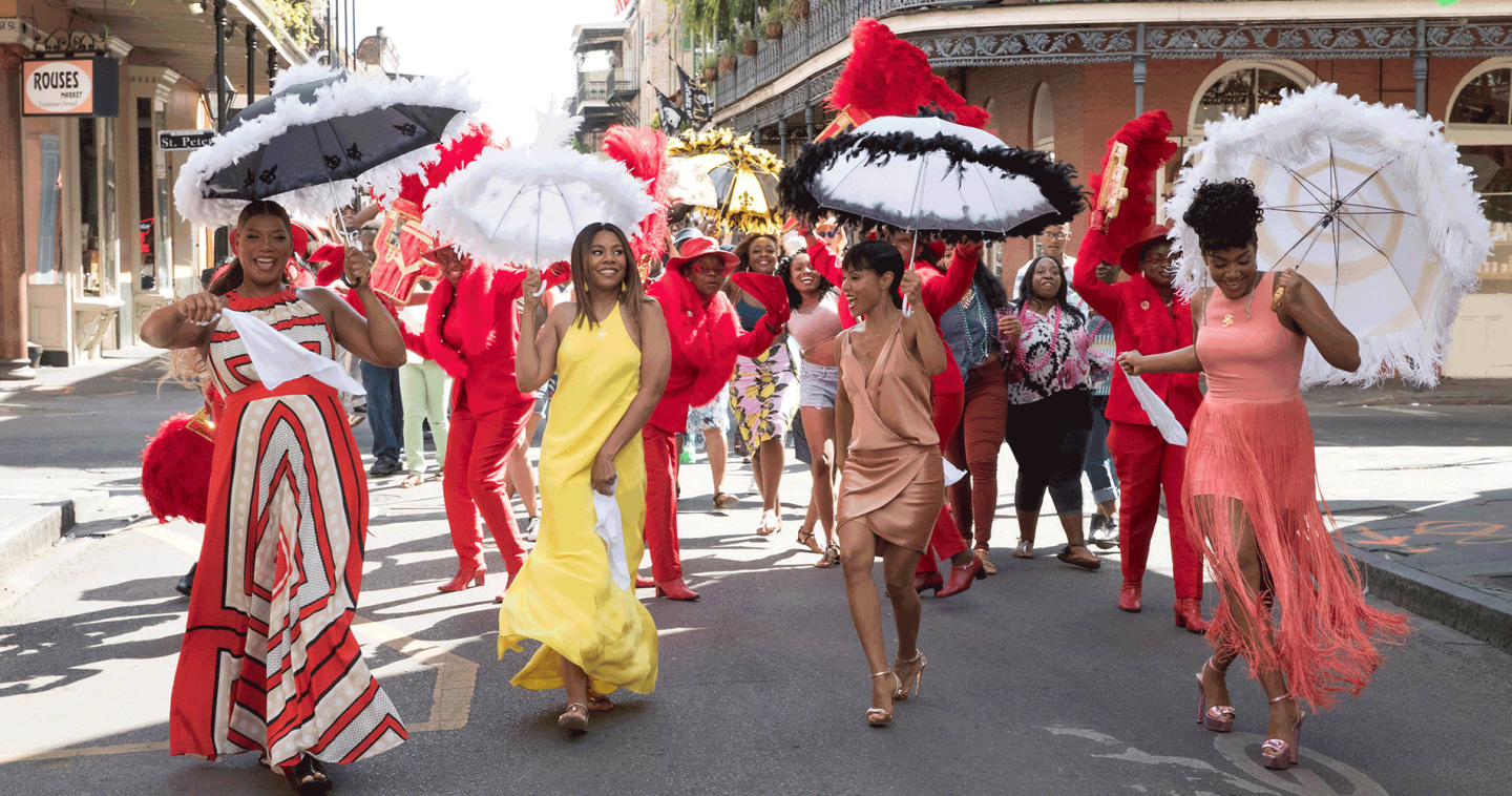 <i>Girls Trip</i> Celebrates The Layers Of Black Sisterhood Like You've Never Seen Before