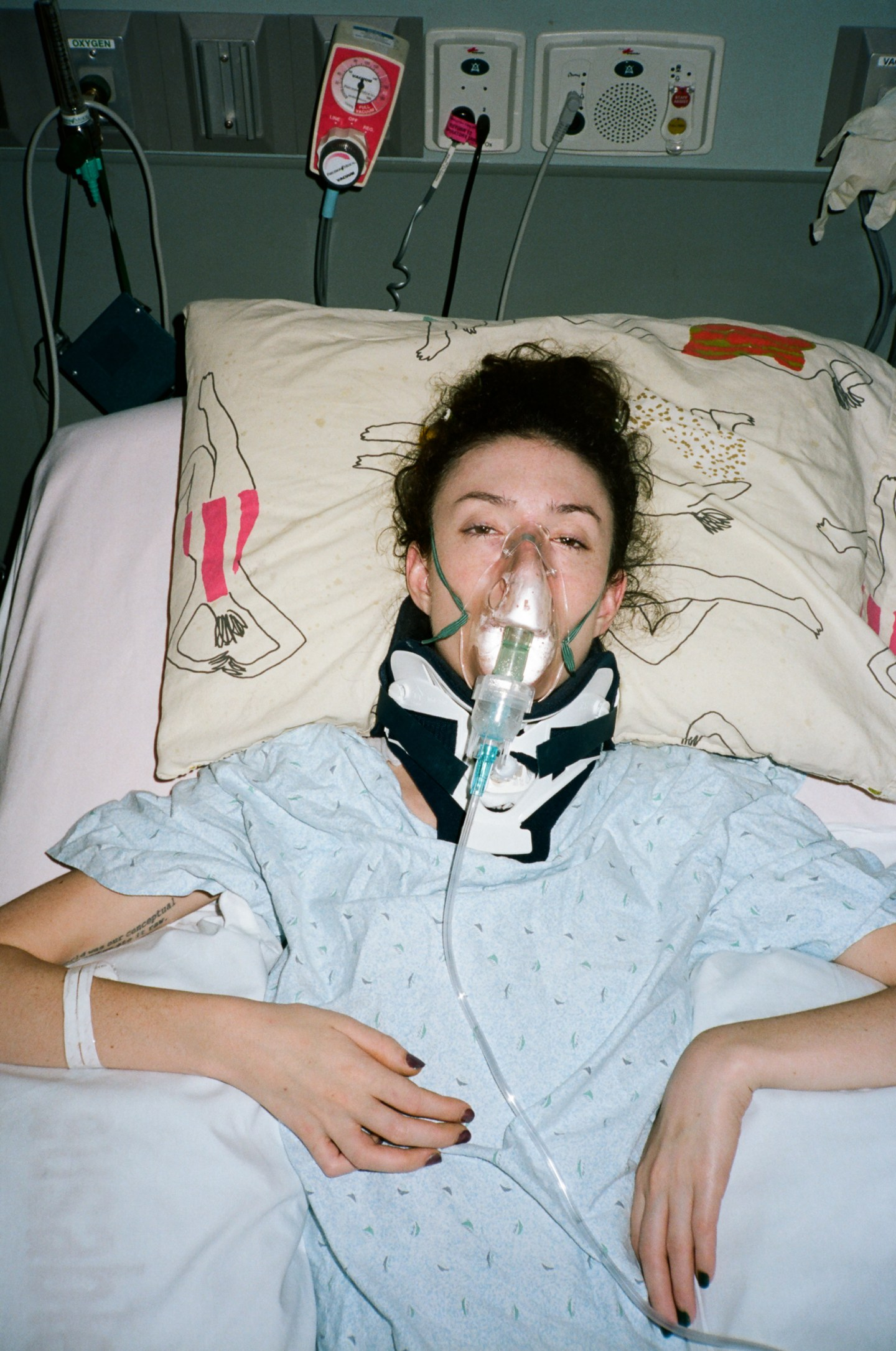 A Freak Accident Paralyzed My Best Friend. Now She's Using Art To Get Her Life Back.
