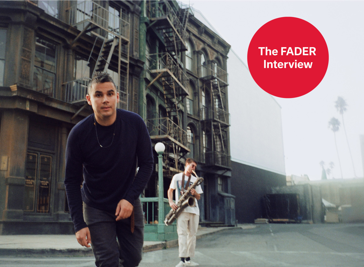 Rostam on sax solos, going with change, and his new summer album