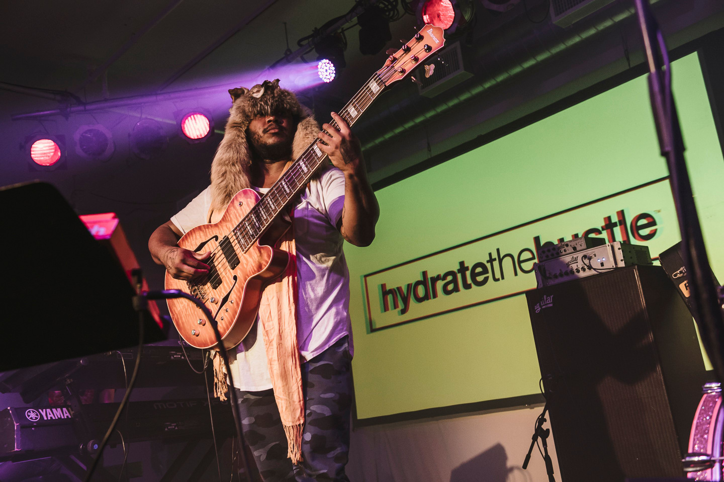 Thundercat And Kehlani Battled The Rain By Bringing The Heat At #uncapped