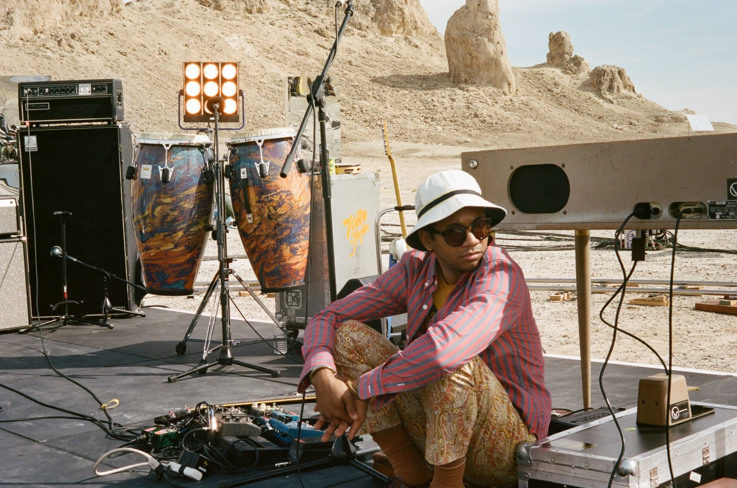 The Story Behind Toro Y Moi's <i>Live From Trona</i> Concert Film