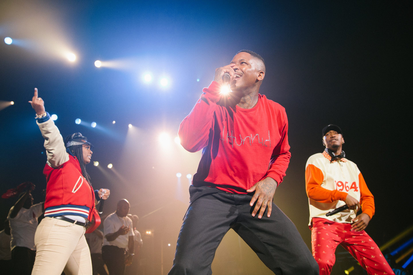 With their 4Hunnid clothing line, YG and his team are playing the long game