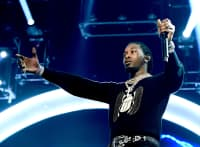 Offset livestreamed his run-in with police outside a Trump rally
