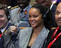 Stock market agrees with Rihanna