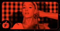 Ariana Grande visits a gate to hell