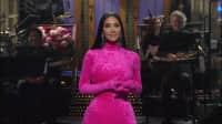 Watch Kim Kardashian West roast Kanye West on SNL