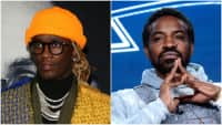 Young Thug, André 3000, and speaking legendary shit