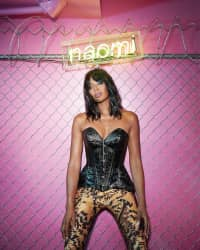Listen to Naomi Campbell's Black History Month playlist