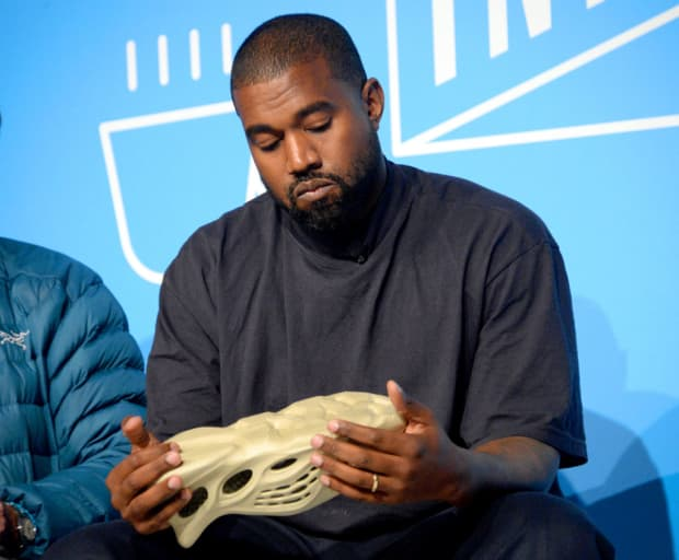 Kanye West painted himself silver for new opera, Mary