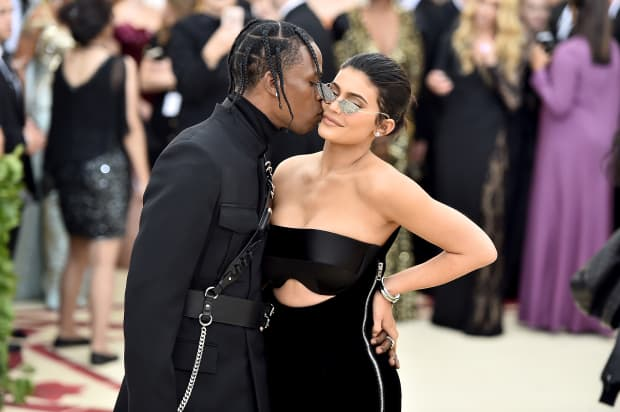 """Kylie Jenner and Travis Scott held a """"Stormiworld"""" party for daughter's 1st birthday"""
