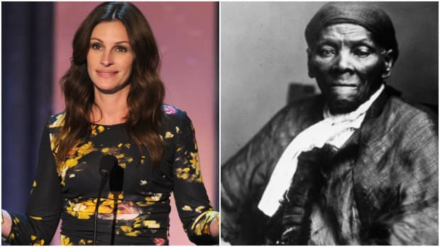 A studio exec wanted Julia Roberts to play Harriet Tubman, screenwriter claims