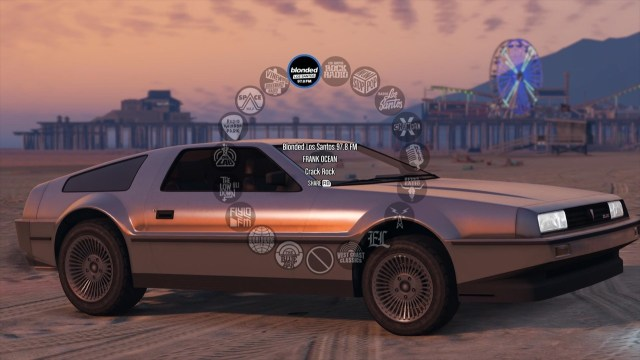 It looks like Frank Ocean's blonded radio is getting added to GTA V