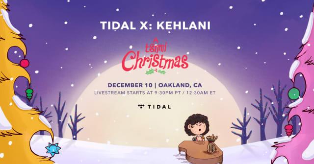 Christmas Tsunami.This Year Everyone Is Invited To Kehlani S Christmas Show