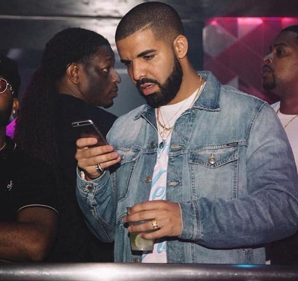 Image result for Drake on his phone