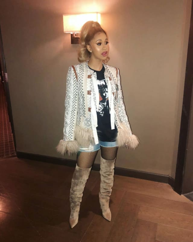 It S Finally Happening Cardi B S Getting Her Own Fashion Nova Line