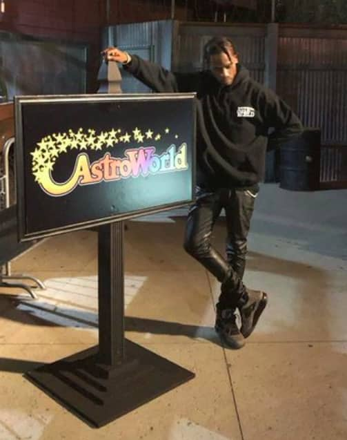 aa654c0cca5b Travis Scott celebrated his birthday at an Astroworld themed Six Flags |  The FADER