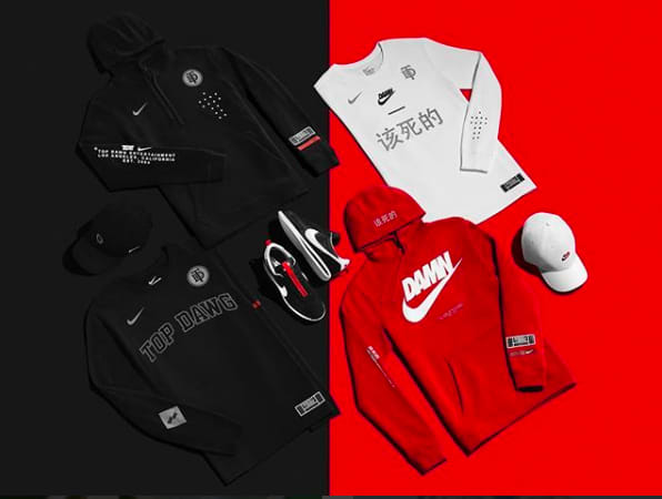 3a5db4b09a3dd TDE releases a capsule collection with Nike