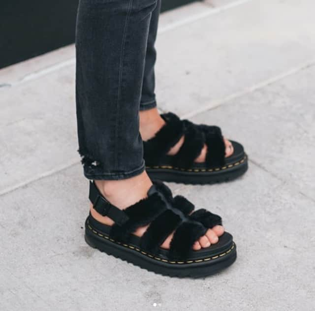 327c10930fc Alert: You need these fluffy Dr. Martens sandals this summer | The FADER