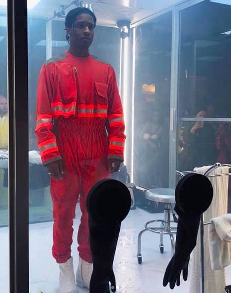 "Watch A$AP Rocky's performance art piece ""Lab Rat"" | The FADER"
