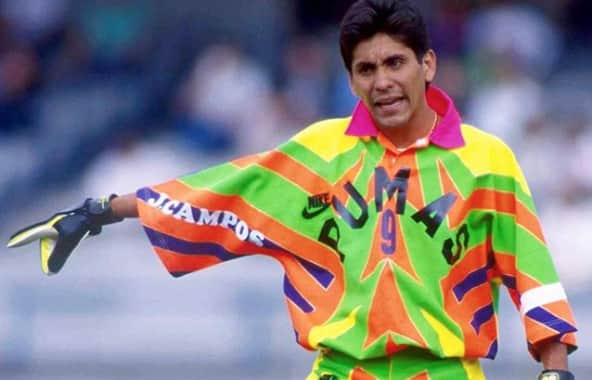 e693d862564 Jorge Campos had the tightest goalie jerseys soccer's ever seen ...