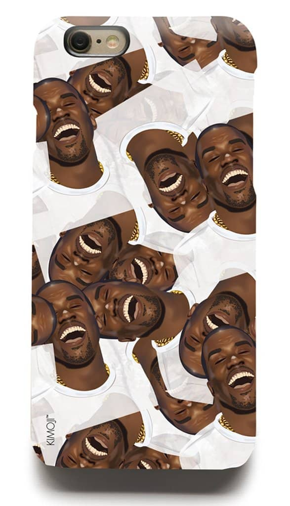 first rate 8d595 9580c Kim Kardashian Is Selling Laughing Kanye West iPhone Cases For One ...