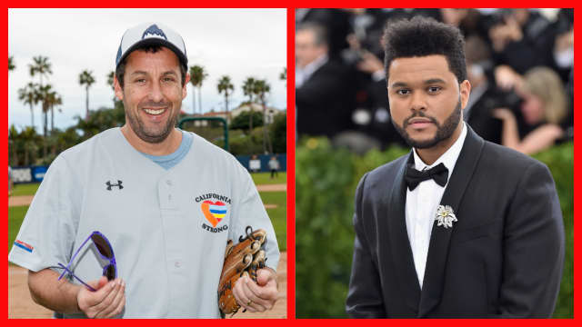 The Weeknd will appear alongside Adam Sandler in crime