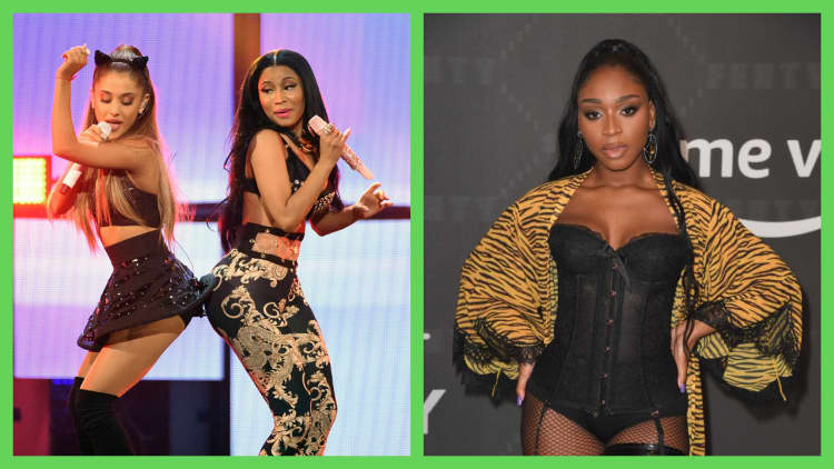 Ariana Grande Teams Up With Normani And Nicki Minaj On Bad To You The Fader Album charlie's angels (original motion picture soundtrack). ariana grande teams up with normani and