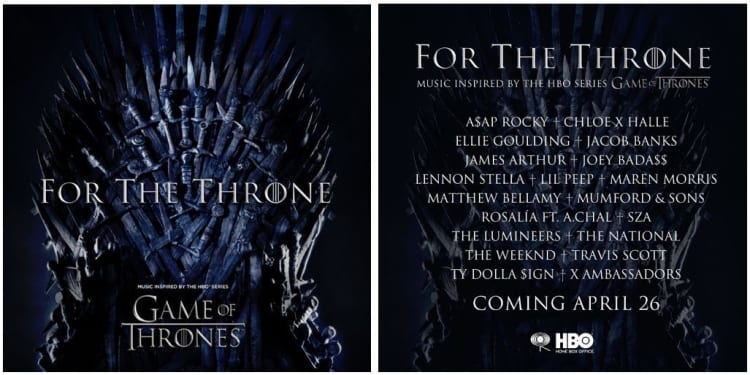 18b51bb32ade Lil Peep, Rosalía, The Weeknd, and more confirmed for Game Of Thrones album  | The FADER