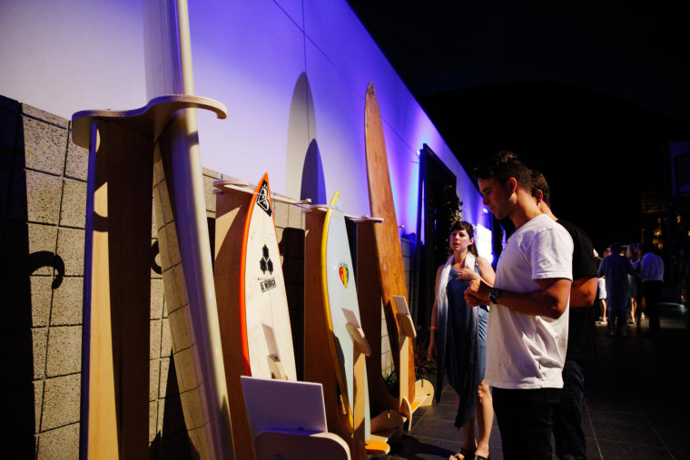 The Drums And Nathaniel Rateliff Made Waves At Friday Night's World Surf League Event