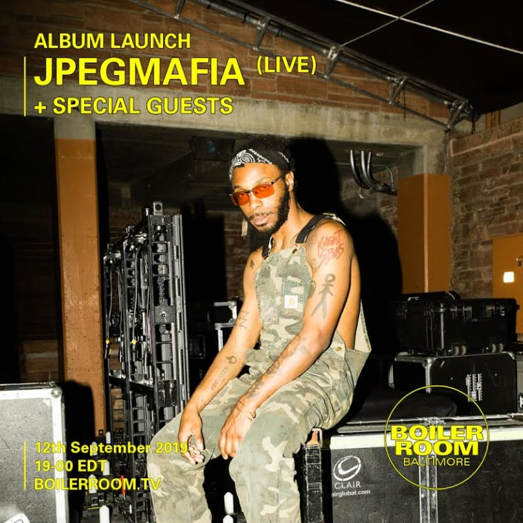 JPEGMAFIA announces new album <i>All My Heroes Are Cornballs</i>