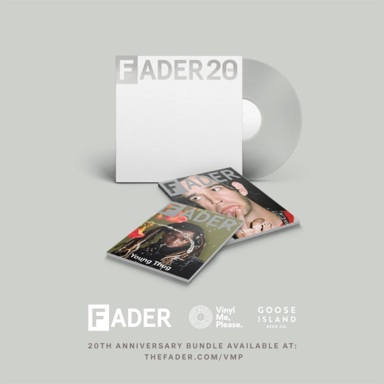 The FADER teams with Vinyl Me, Please and Goose Island Beer Company for a 20th anniversary vinyl bundle