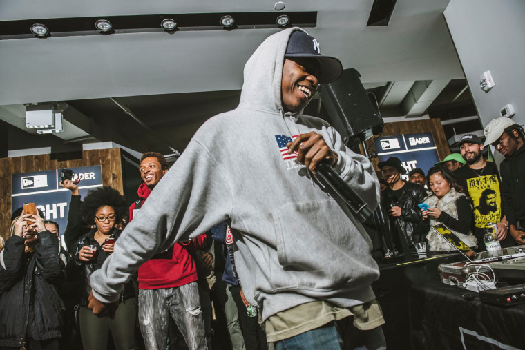 See Photos From Remy Banks' Energetic New Era Performance Last Night