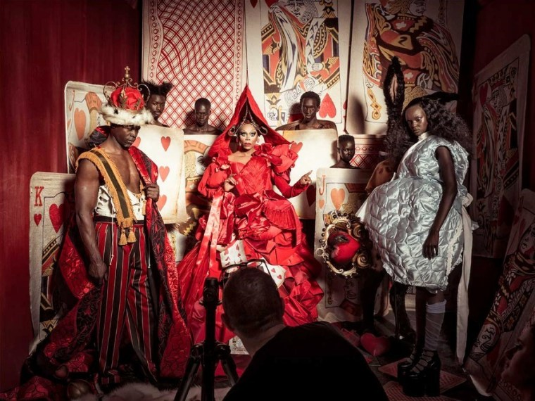 Pirelli's 2018 Calendar Reimagines <i>Alice In Wonderland</i> With All-Black Models