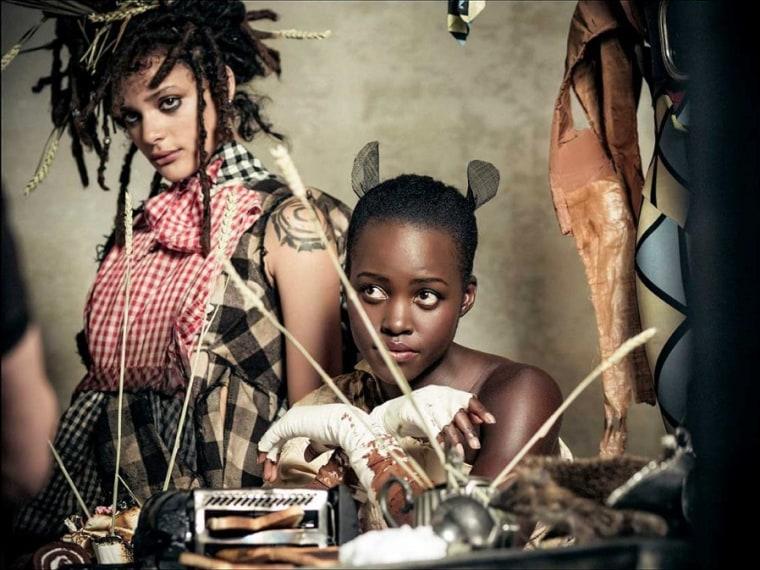 Pirelli's 2018 Calendar Reimagines <i>Alice In Wonderland</i> With All-Black Models