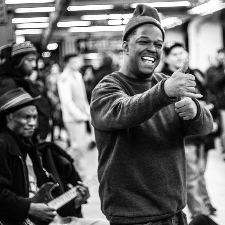 Major league subway busker Mike Yung is crowdfunding a debut album