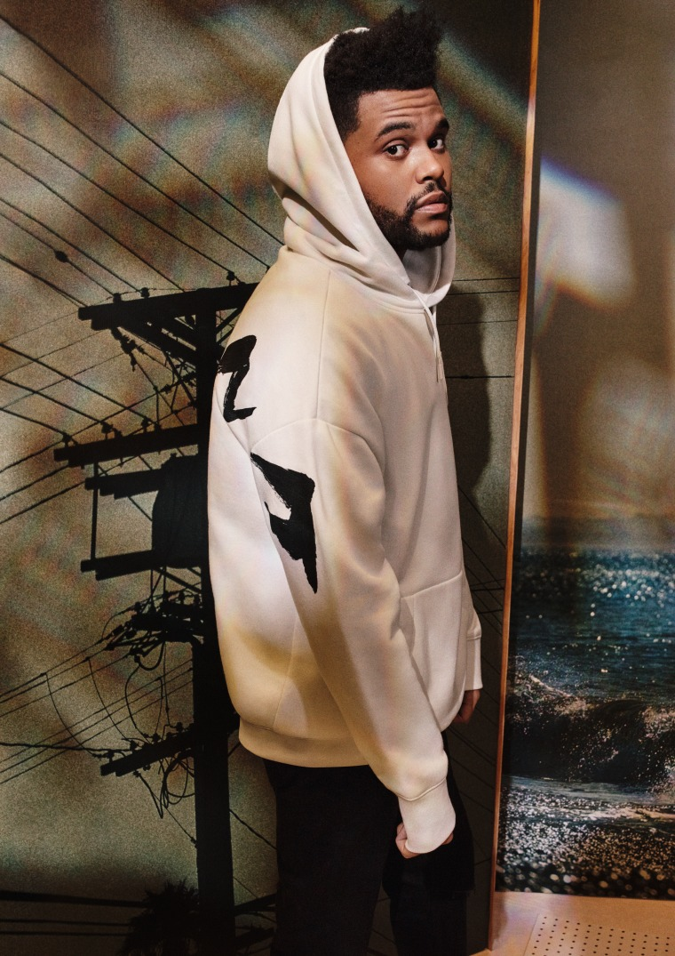 Get a first look at The Weeknd's new collaboration with H&M