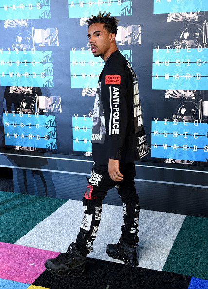 Vic Mensa Wears Anti-Police Themed Apparel To VMAs