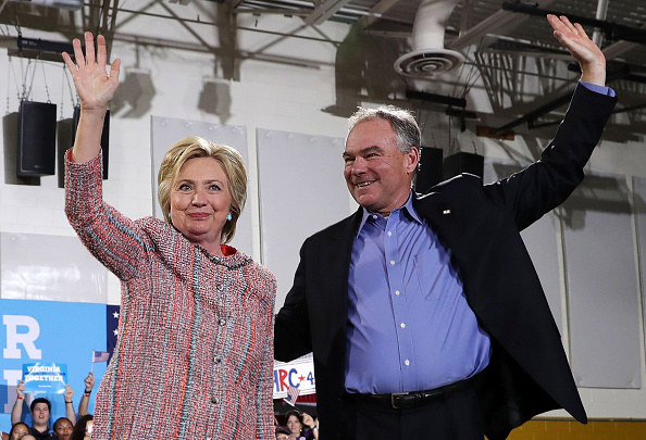 Hillary Clinton Announces Tim Kaine As Running Mate