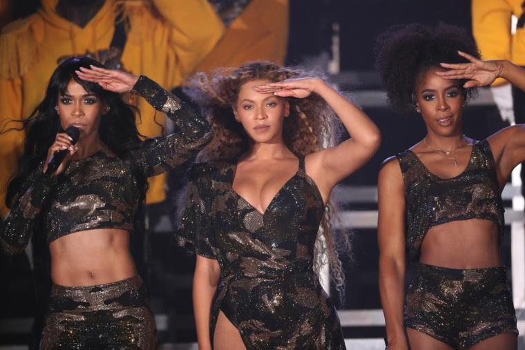 Beyoncé just reunited with Destiny's Child at Coachella