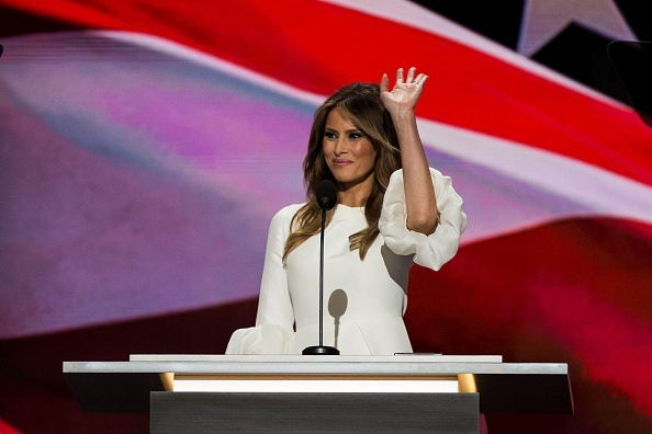 It Seems Like Melania Trump Copied Part Of Her Speech From Michelle Obama