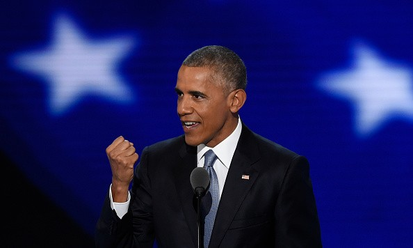 Barack Obama Passes The Torch To Hillary Clinton In Philadelphia