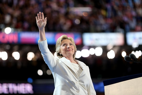 Hillary Clinton Accepts The Democratic Presidential Nomination In Philadelphia