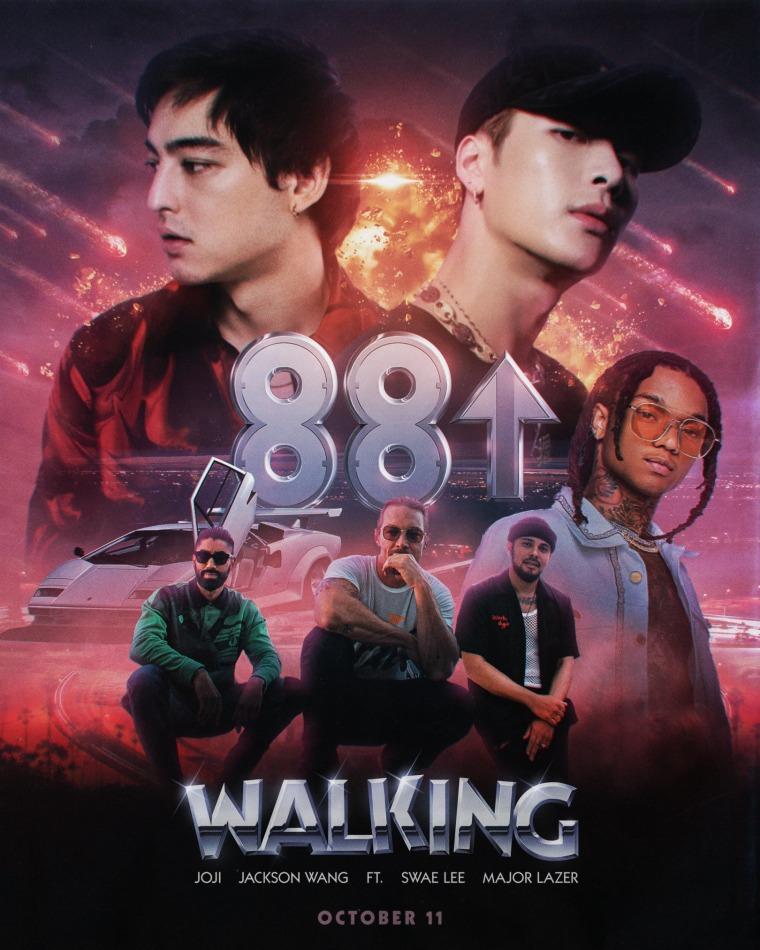 "Swae Lee, Major Lazer, Joji and Jackson Wang link up on ""Walking"""