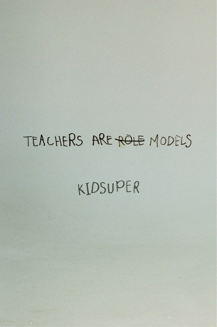 KidSuper reminds us of teachers' superpowers in <i>Bull in a China Shop</i> collection