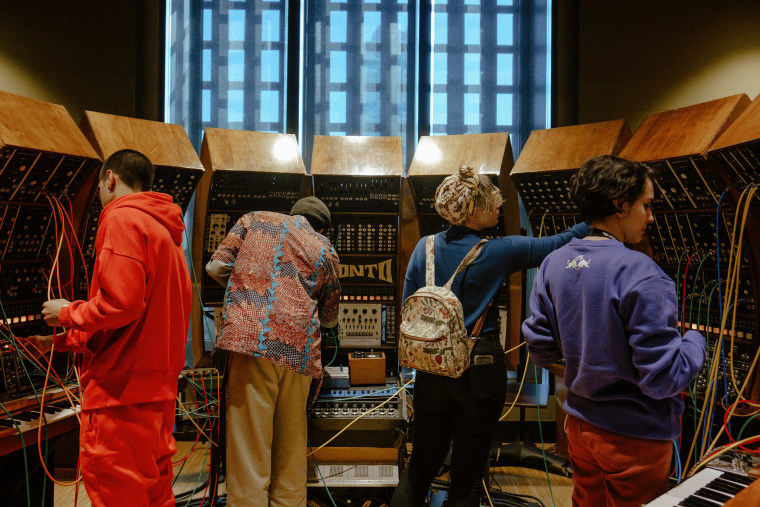 Red Bull Music Academy Bass Camp gets up close & personal with the world's largest synthesizer