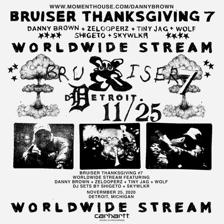 "Danny Brown shares ""Savage Nomad"" video, announces Bruiser Thanksgiving 7"